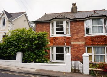 Thumbnail 3 bed end terrace house for sale in Victoria Road, Dartmouth