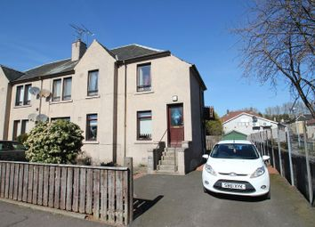 Thumbnail 3 bed flat for sale in Gartmorn Road, Sauchie, Alloa