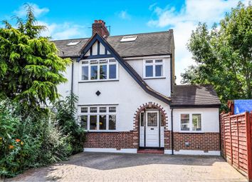 Thumbnail 4 bed semi-detached house for sale in Poplar Gardens, New Malden
