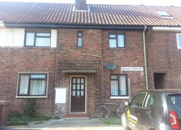 Thumbnail 2 bed flat to rent in Nollath Crescent, Beverley