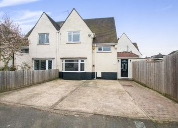 Thumbnail 4 bedroom semi-detached house for sale in Marina Way, Cippenham, Slough