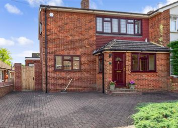 Thumbnail 3 bed semi-detached house for sale in Grove Road, Billericay, Essex