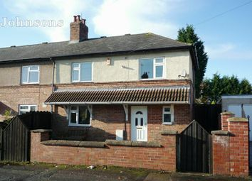 Thumbnail 3 bed end terrace house for sale in New Street, Carcroft, Doncaster.