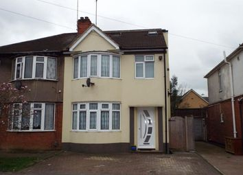 Thumbnail 4 bedroom semi-detached house for sale in Beechwood Road, Luton, Bedfordshire, England