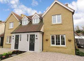 Thumbnail 3 bed semi-detached house for sale in Longlands Close, Warboys, Huntingdon, Cambridgeshire
