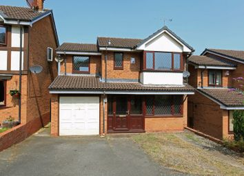 Thumbnail 4 bed detached house for sale in Redwing Close, Telford