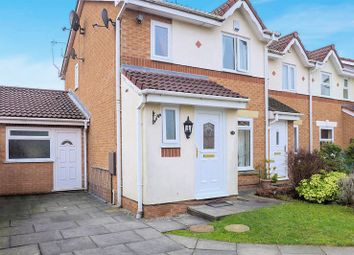 Thumbnail 3 bed terraced house for sale in Brightwater Close, Whitefield, Manchester