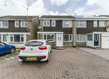 Thumbnail 3 bed semi-detached house for sale in Badger Close, Bishopstoke, Eastleigh, Hampshire