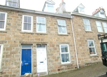 Thumbnail 3 bed terraced house for sale in Trenwith Terrace, St Ives, Cornwall