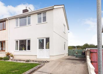 Thumbnail 3 bed semi-detached house for sale in Dythel Park, Pen Y Mynydd, Llanelli