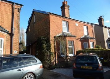 Thumbnail 3 bed semi-detached house to rent in Miles Road, Epsom
