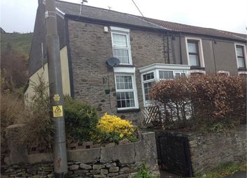 Thumbnail 2 bed cottage for sale in Pleasant View, Penrhiwfer, Rhondda Cynon Taff.
