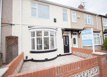 Thumbnail 3 bed terraced house for sale in Ashgrove Avenue, Hartlepool
