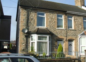 Thumbnail 3 bed semi-detached house to rent in Morfa Street, Bridgend