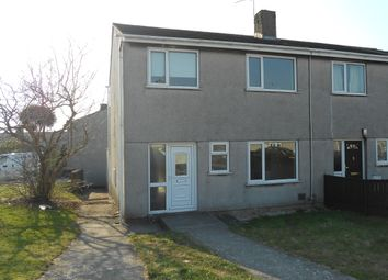 Thumbnail 3 bed semi-detached house to rent in Cribbwr Square, Kenfig Hill