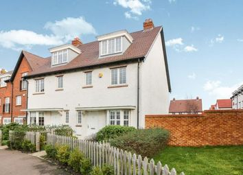 Thumbnail 4 bed semi-detached house for sale in Wissen Drive, Letchworth Garden City, Hertfordshire, England