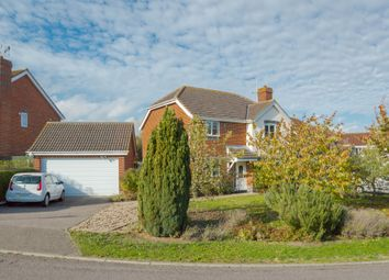 Thumbnail 4 bed detached house for sale in Hopton Rise, Haverhill