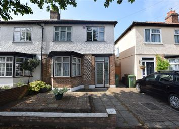 Thumbnail 3 bed semi-detached house for sale in Link Road, Wallington, Surrey