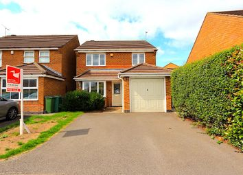 Thumbnail 3 bed detached house for sale in Murby Way, Thorpe Astley, Braunstone, Leicester