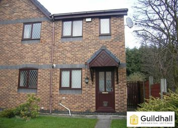 Thumbnail 2 bed semi-detached house to rent in Mosslands, Leyland