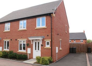 Thumbnail 3 bed semi-detached house for sale in Daisy Close, Lutterworth