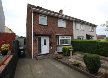 Thumbnail 2 bedroom terraced house for sale in Hill Crest, Bangor