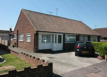 Thumbnail 3 bed semi-detached bungalow for sale in Hurley Road, Salvington