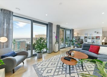 Thumbnail 2 bed flat for sale in East Ferry Road, London