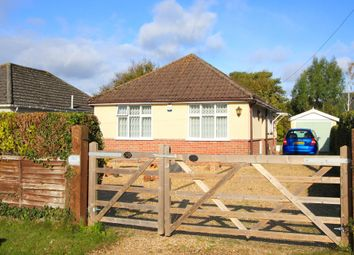 Thumbnail 3 bed detached bungalow for sale in Elm Avenue, Lower Pennington, Lymington, Hampshire