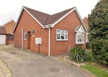 Thumbnail 2 bed semi-detached bungalow for sale in Candlesby Road, Grimsby