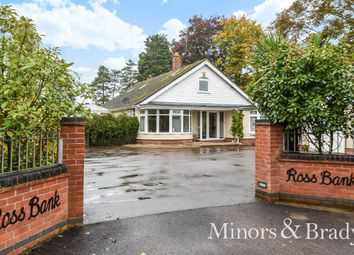 Thumbnail 4 bed detached bungalow for sale in Horning Road, Hoveton, Norwich