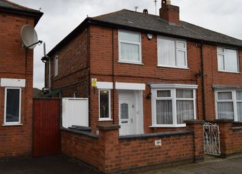Thumbnail 3 bed semi-detached house for sale in Gough Road, Evington, Leicester