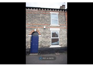 Thumbnail 3 bed terraced house to rent in Melbourne Street, Derby