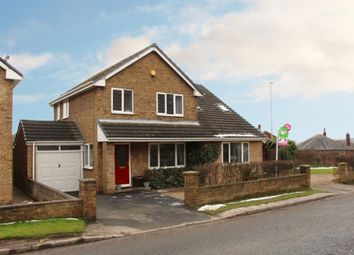 Thumbnail 4 bed detached house for sale in Hardcastle Lane, Flockton, Wakefield