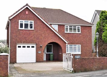 Thumbnail 4 bed detached house for sale in Cardiff Road, Llantrisant