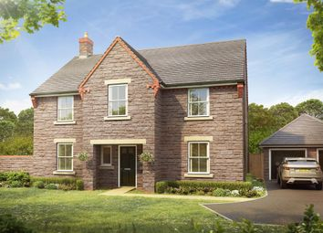 "Thumbnail 4 bedroom detached house for sale in ""Winstone"" at Langport Road, Somerton"