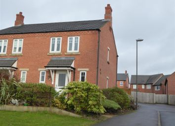 Thumbnail 3 bed semi-detached house for sale in Salford Way, Church Gresley, Swadlincote