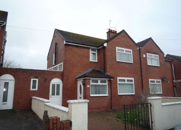 Thumbnail 3 bed semi-detached house to rent in Crossways Street, Barry