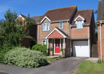 Thumbnail 3 bed detached house for sale in Aldbourne Close, Hungerford