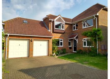 Thumbnail 5 bed detached house for sale in Lodge Close, Cheddington