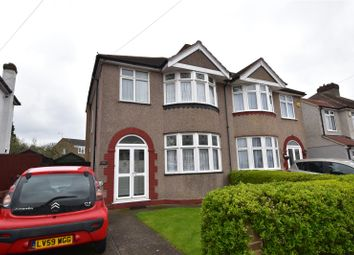 Thumbnail 3 bed semi-detached house for sale in Chastilian Road, West Dartford, Kent