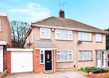 Thumbnail 3 bedroom semi-detached house for sale in Spurrell Avenue, Joydens Wood, Kent