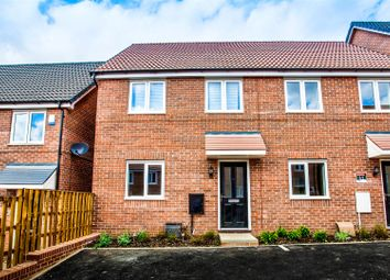 Thumbnail 3 bed semi-detached house to rent in Mandalay Road, Pleasley, Mansfield
