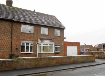 Thumbnail 3 bed semi-detached house to rent in Kirkley Drive, Ponteland, Newcastle Upon Tyne