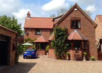 Thumbnail 4 bed detached house for sale in Dann's Hill, Saxby All Saints, North Lincolnshire