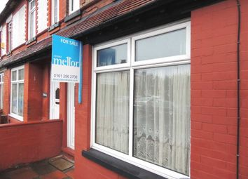 Thumbnail 3 bedroom terraced house for sale in Elmsworth Avenue, Levenshulme, Manchester