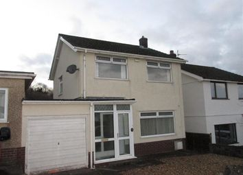 Thumbnail 3 bed detached house to rent in Ael Y Bryn, Penclawdd, Swansea