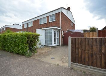 Thumbnail 3 bed semi-detached house for sale in Cere Road, Sprowston, Norwich