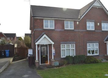 Thumbnail 3 bed semi-detached house to rent in Viola Close, Jasmine Gardens, Kirkby