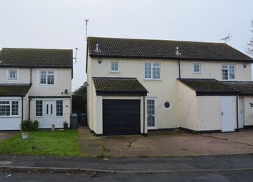 3 bed semi-detached house for sale in Longcroft, Felixstowe IP11